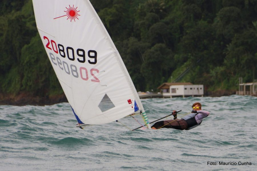 Humberto Porrata trains for the youth world sailing championships.