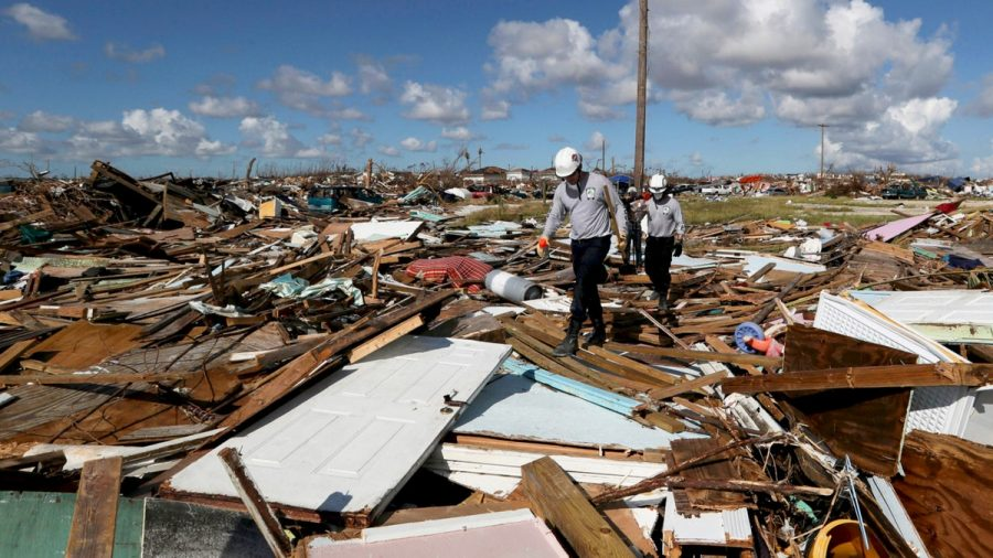 Immediately+after+Hurricane+Dorian+left+the+Bahamas%2C+relief+efforts+began+to+assess+and+assuage+the+damage.