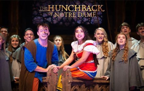 Caleb Adams and Aubee Billie play lead roles in The Hunchback of Notre Dame.