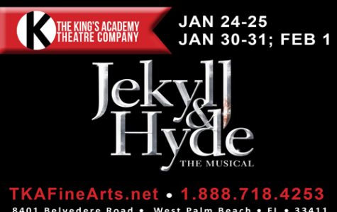 Jekyll and Hyde takes place on TKA's stage on January 24 through February 1, 2020.