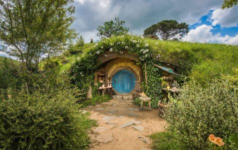 The iconic hobbit holes from Peter Jackson's Tolkien films still stand as a popular tourist attraction in Matamata, Newzealand. They are all actual, livable homes. (Photo Credit: Sarah Barnes, mymodernment.com)