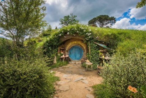 The iconic hobbit holes from Peter Jackson