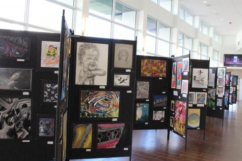 The Smith Family Conservatory of the Arts Fall Visual Arts Showcase (Photo Credit: Mrs. Laura McFadden)