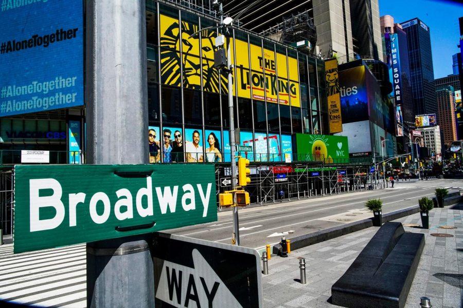 Broadway is still in