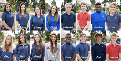 The Kings Academy class of 2021 Homecoming Court. (photo credit: The Kings Academy)